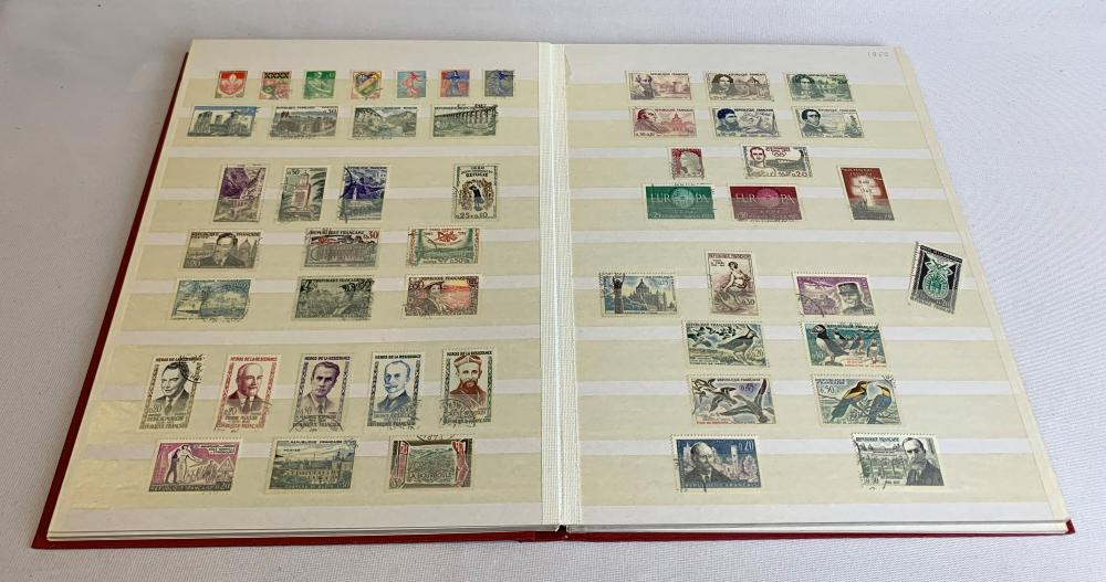 France 1953-67 Stamp Collection