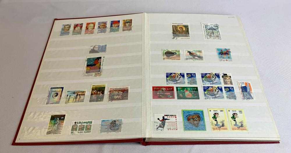 France 2000-06 Stamp Collection