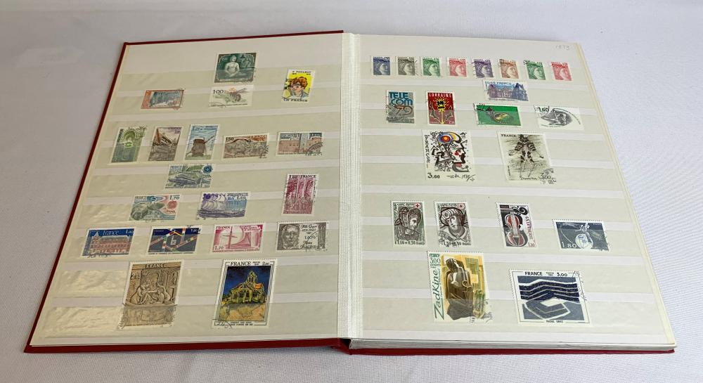 France 1978-89 Stamp Collection