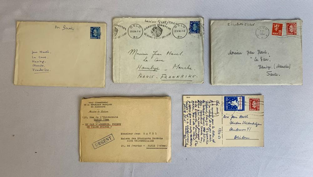 European Stamp Covers and Postcards Collection