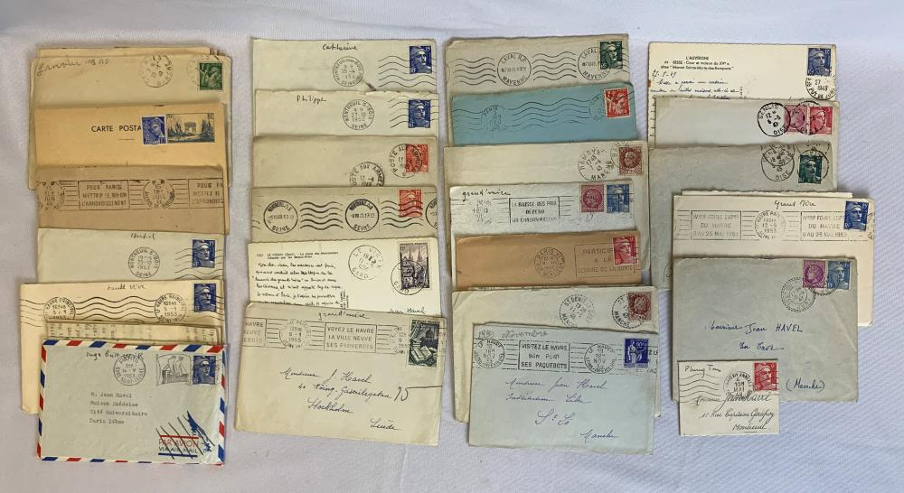 France Stamp Covers and Cards Collection 2