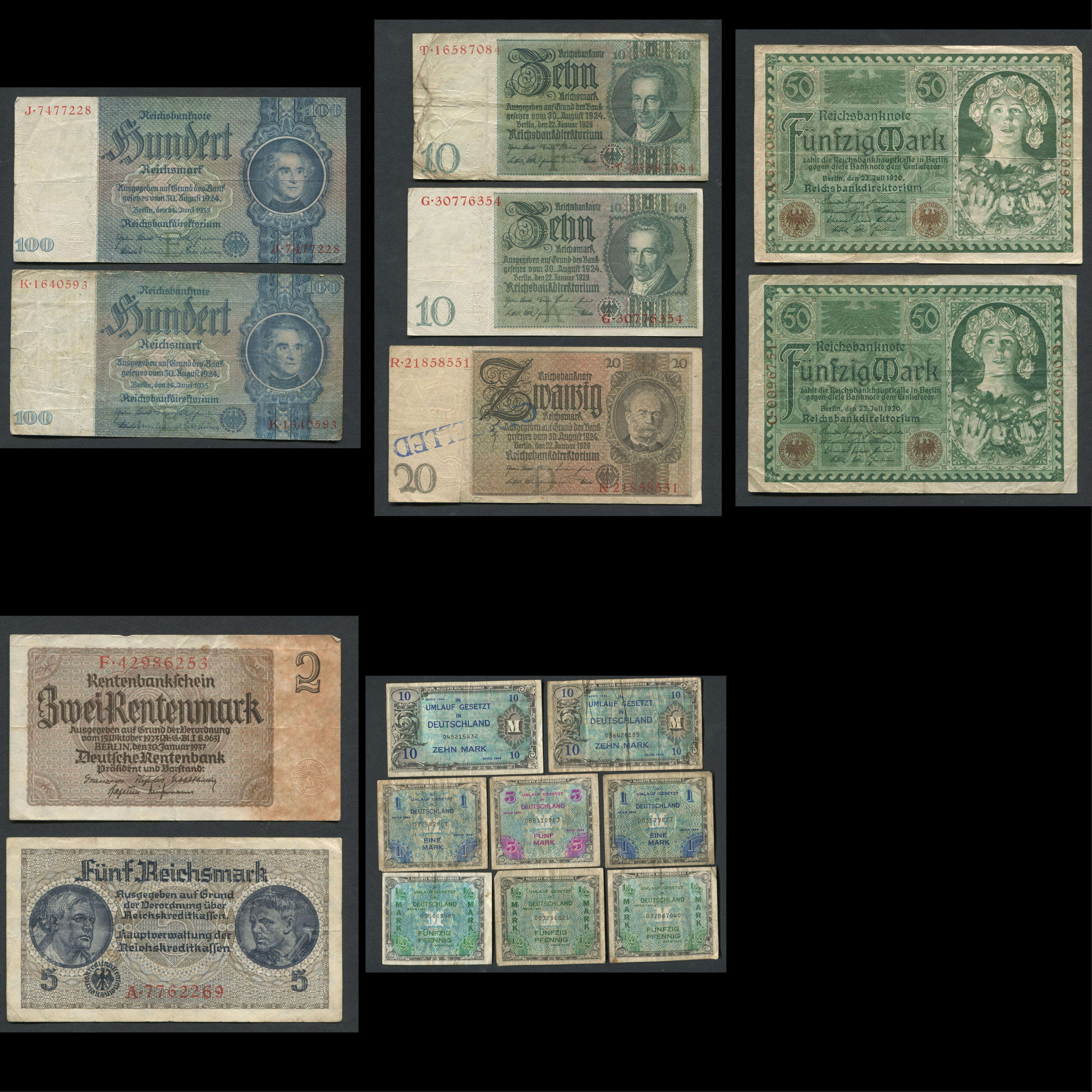 Germany Banknote Collection