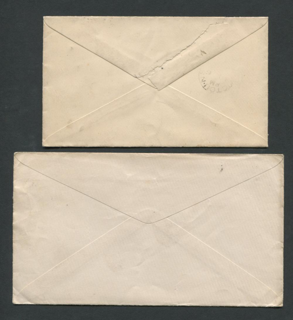 Canada Victoria Stamp Covers 1873, 1891, 1897