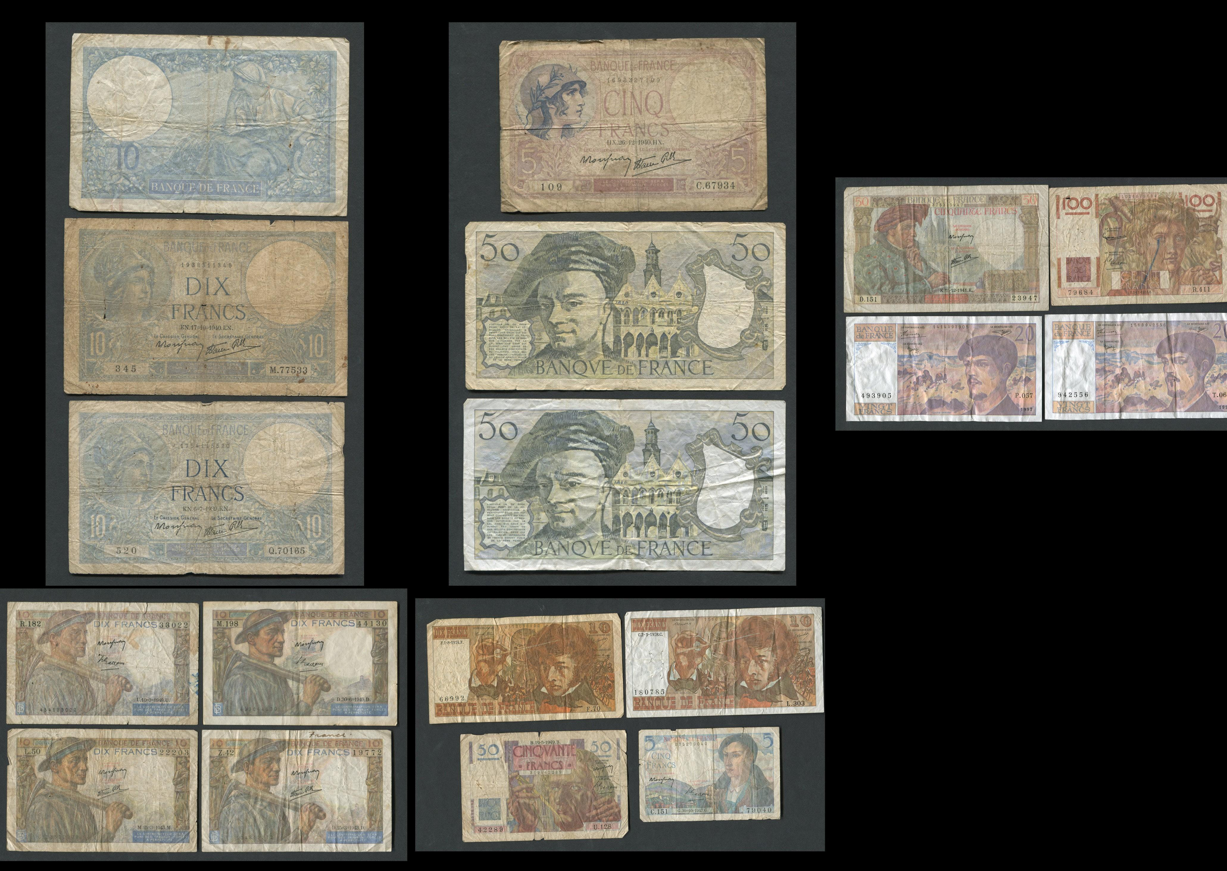 France Banknote Collection