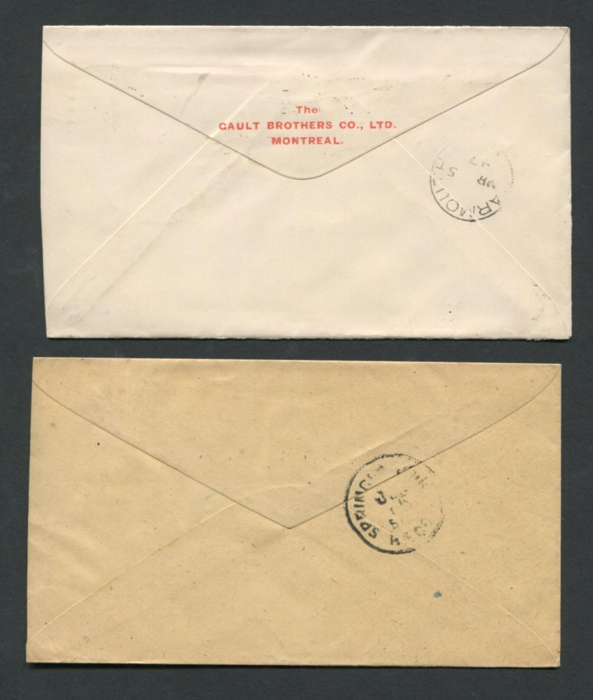 Canada Victoria Stamp Covers 10
