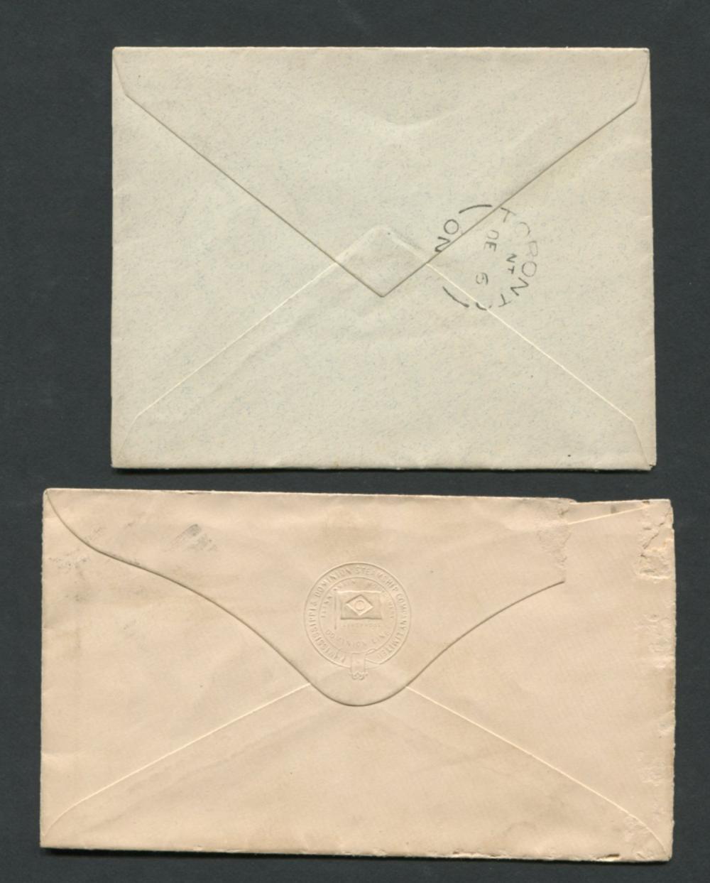 Canada Victoria Stamp Covers 16