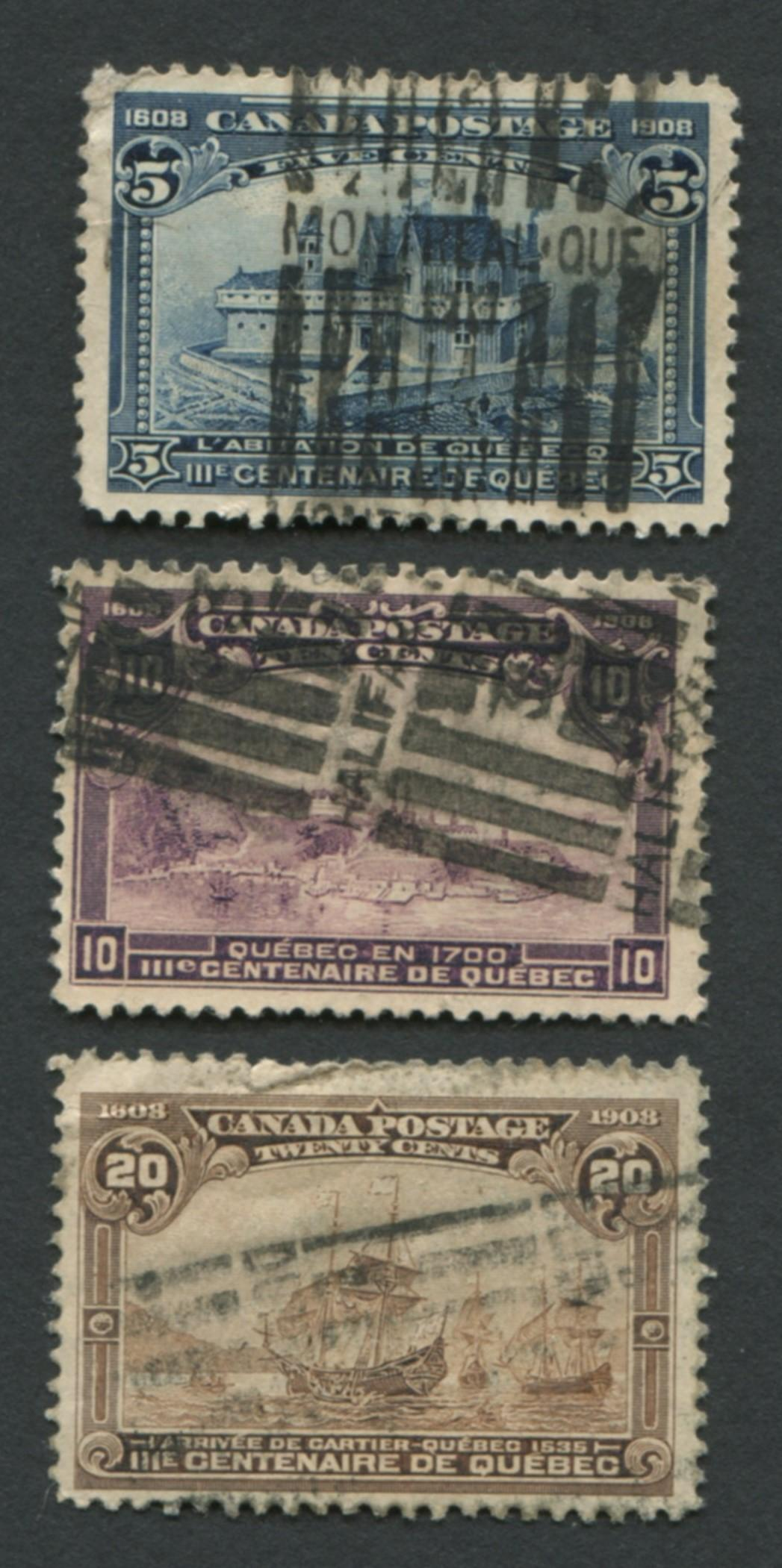 Canada Quebec Stamp Collection