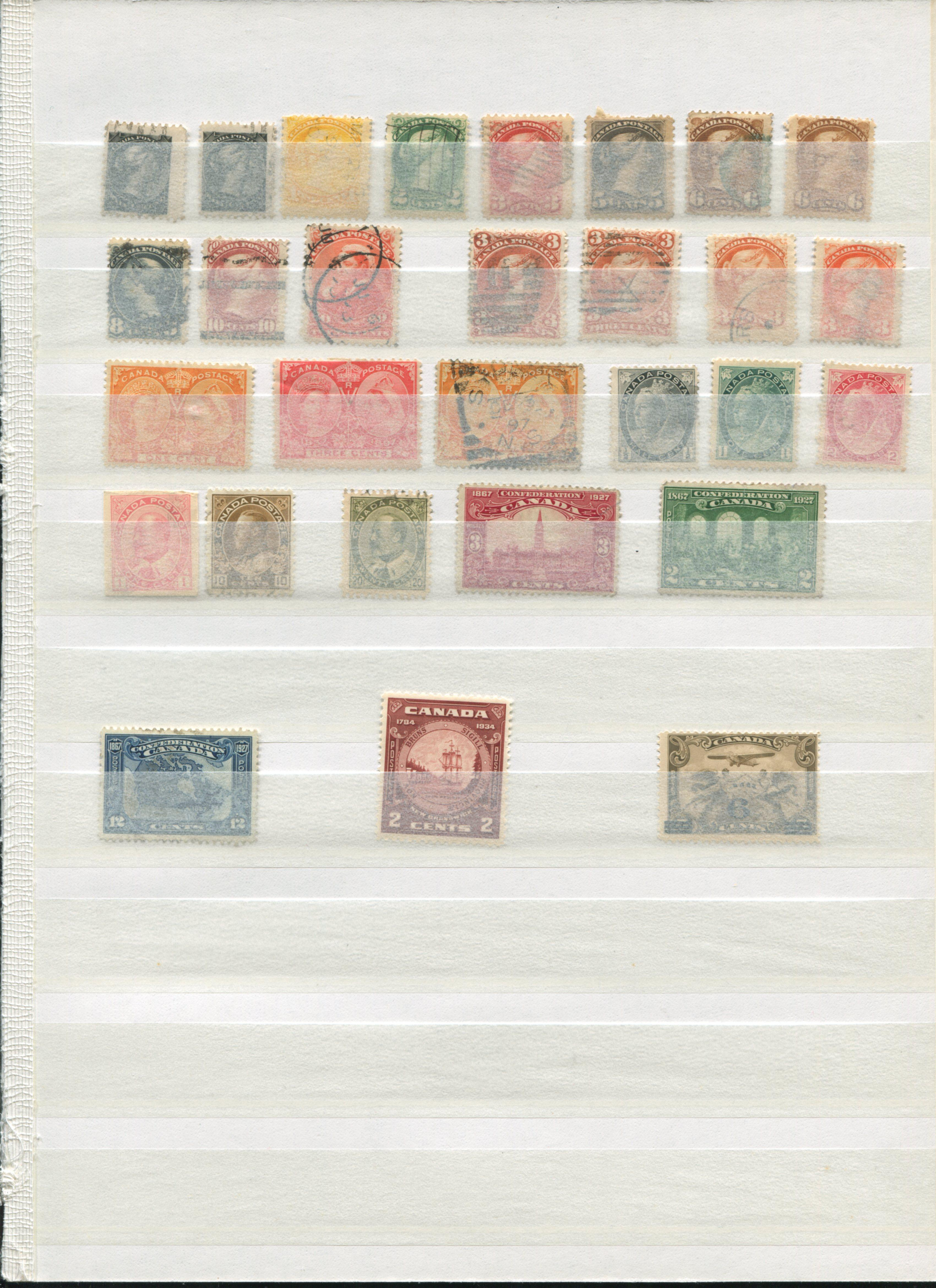 Canada Stamp Collection 17