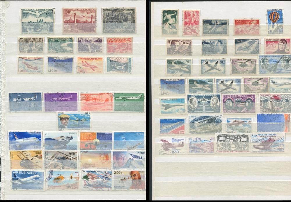 France Air Post Stamp Collection 1