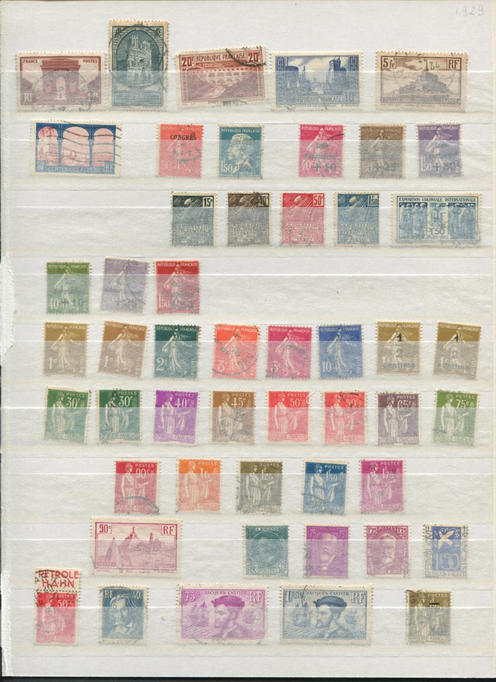 France Stamp Collection 1