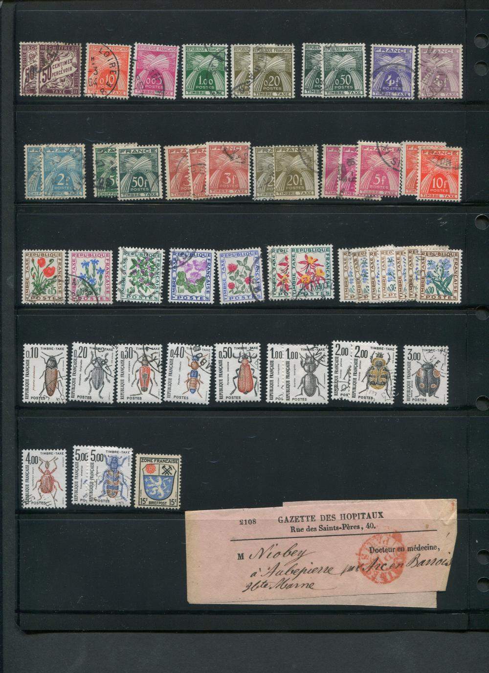 France Air Post & More Stamp Collection