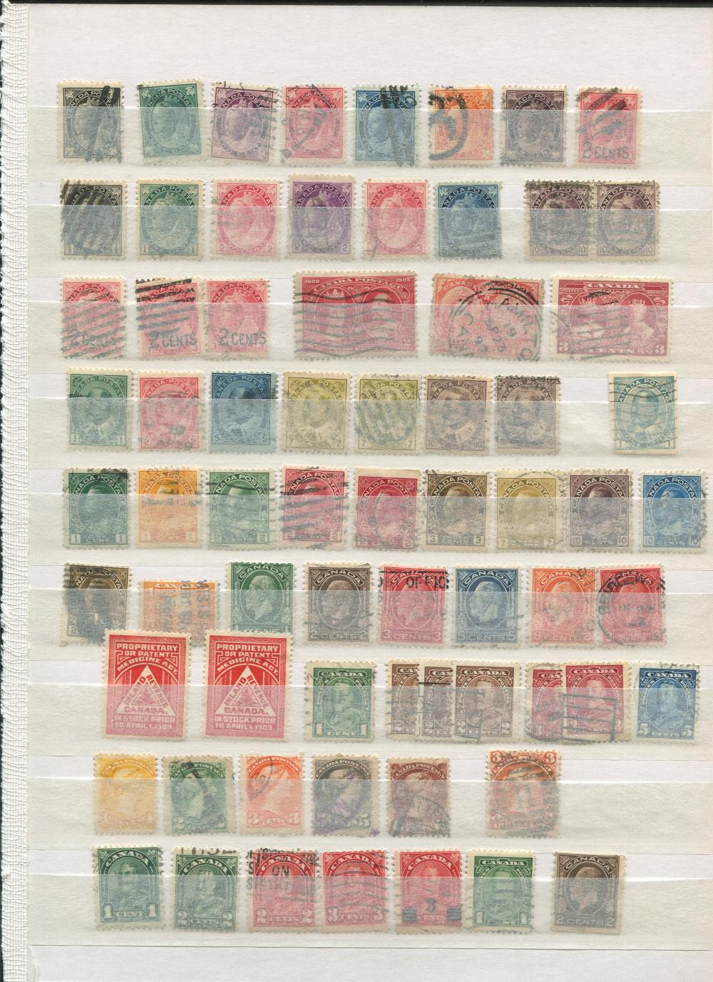 Canada Stamp Collection 18
