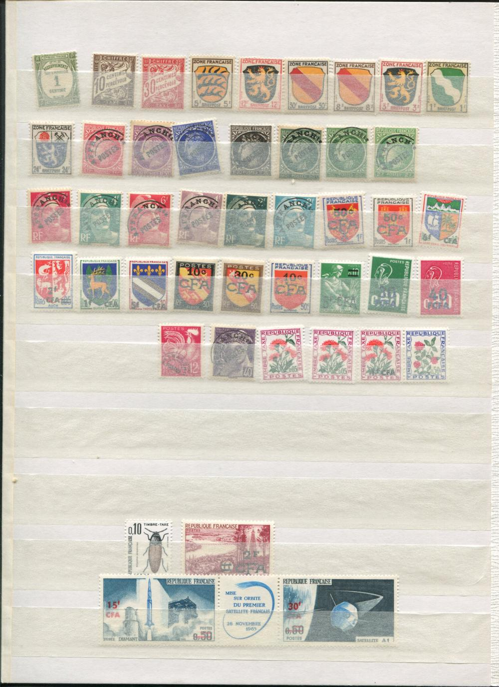 France Stamp Collection 5