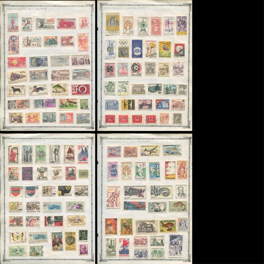 Czechoslovakia Stamp Collection 5