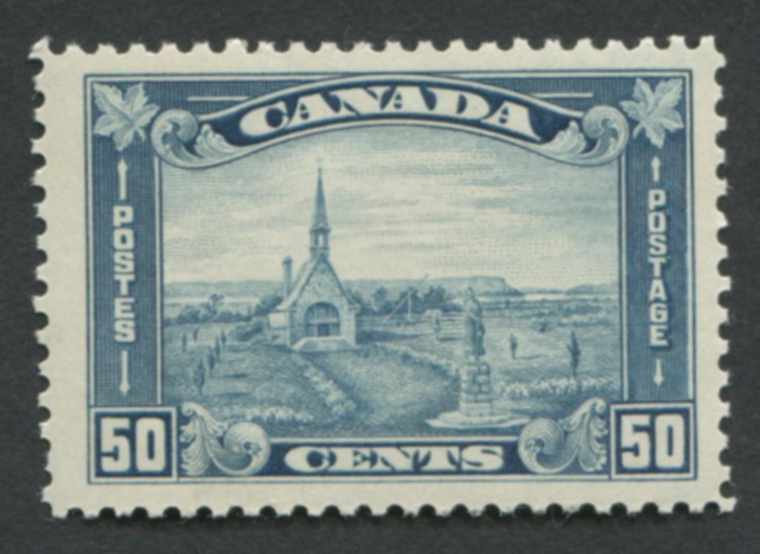 Canada 1930 #176 50c Dull Blue MH VF OG