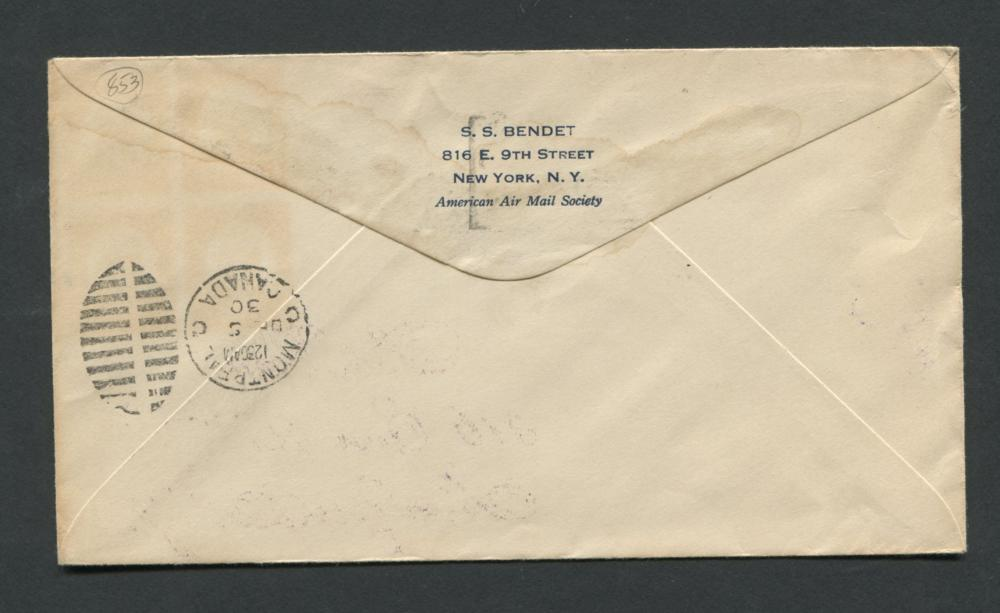 Canada 1930 First Day Cover #C2 5c Olive Brown
