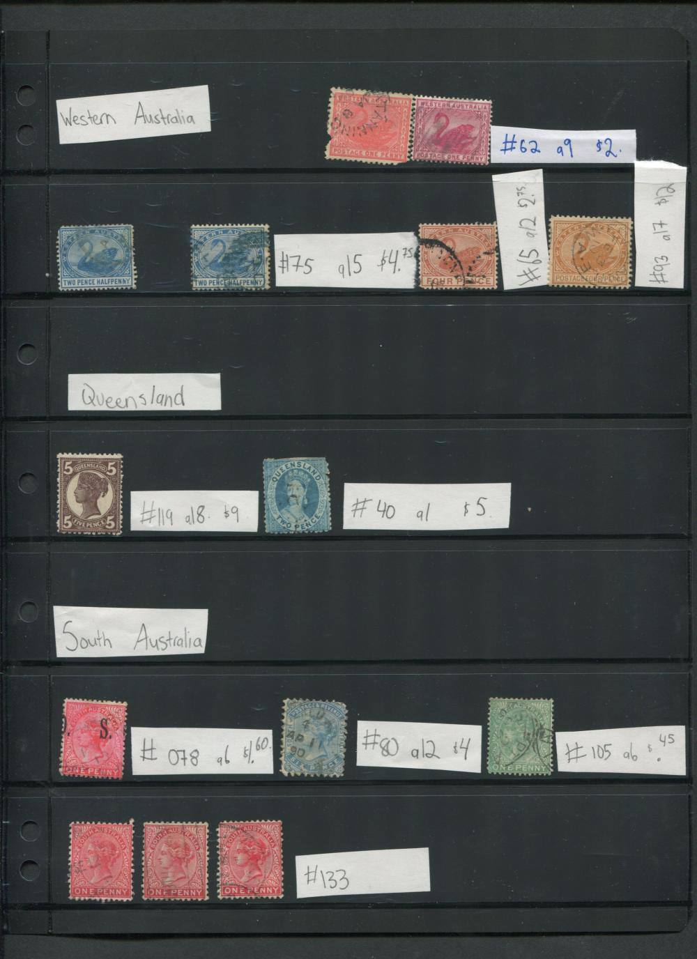 Australia States Stamp Collection 2