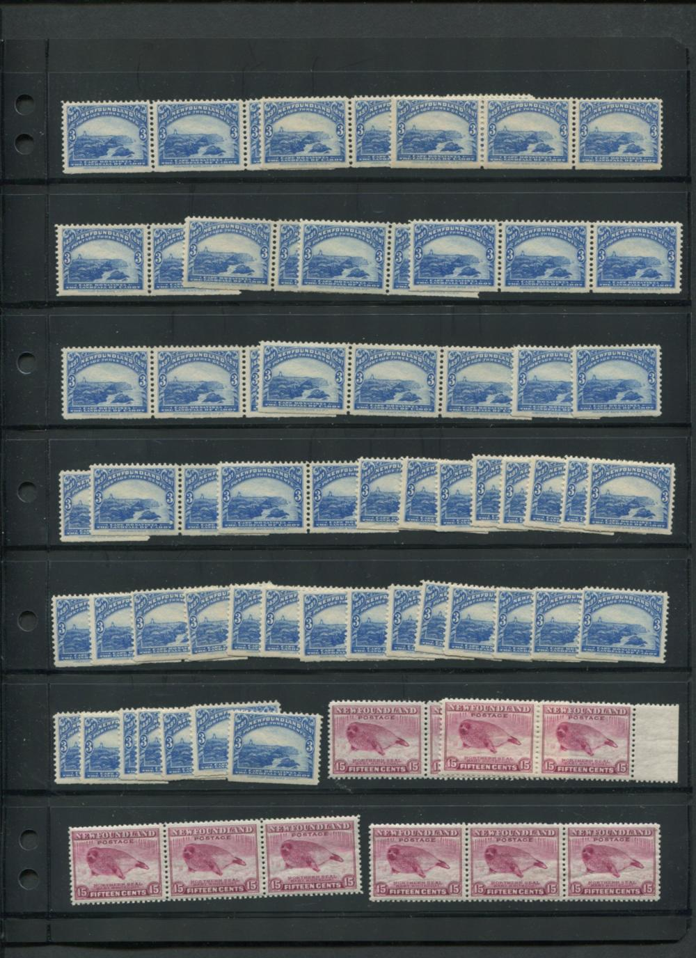 Canada Newfoundland MNH Stamp Collection