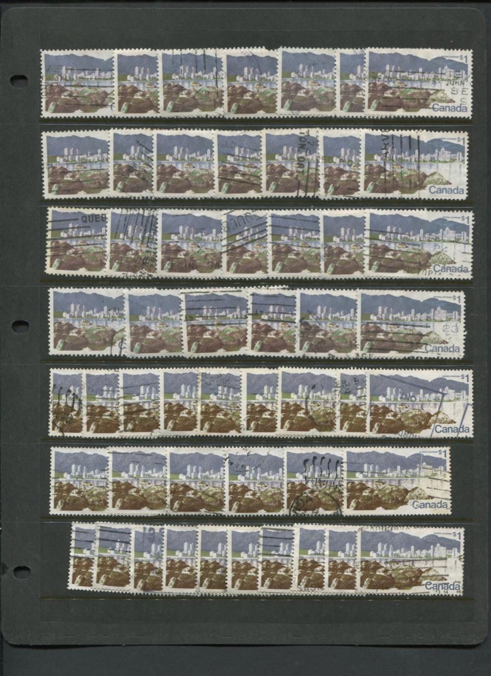 Canada 1972-77 Landscape Definitives Stamp Collection