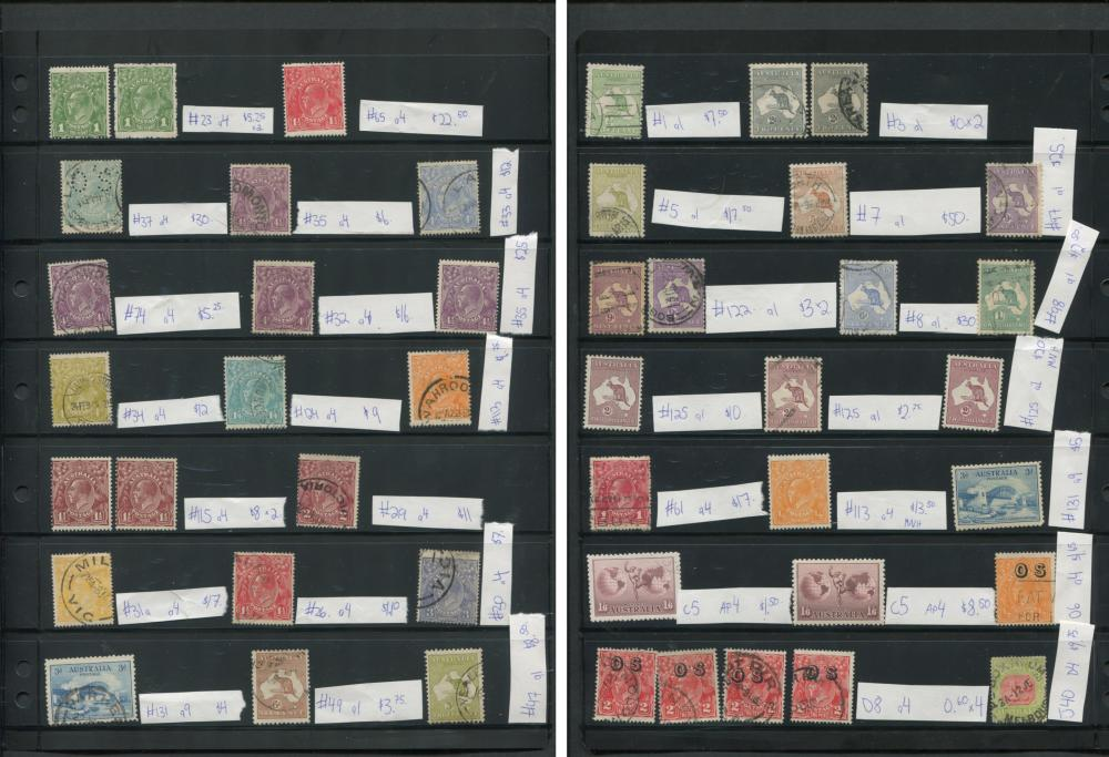 Australia Early Stamp Collection