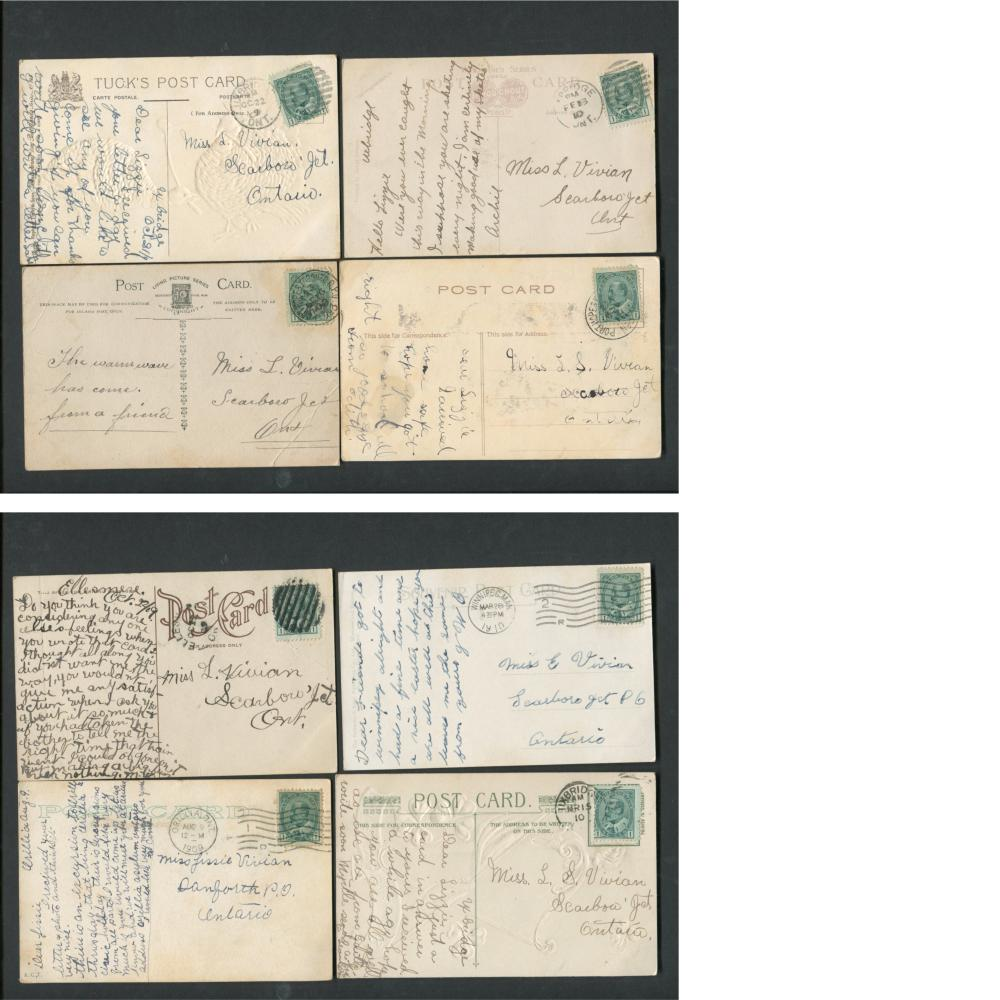 Canada Stamp/Postcard Collection 3