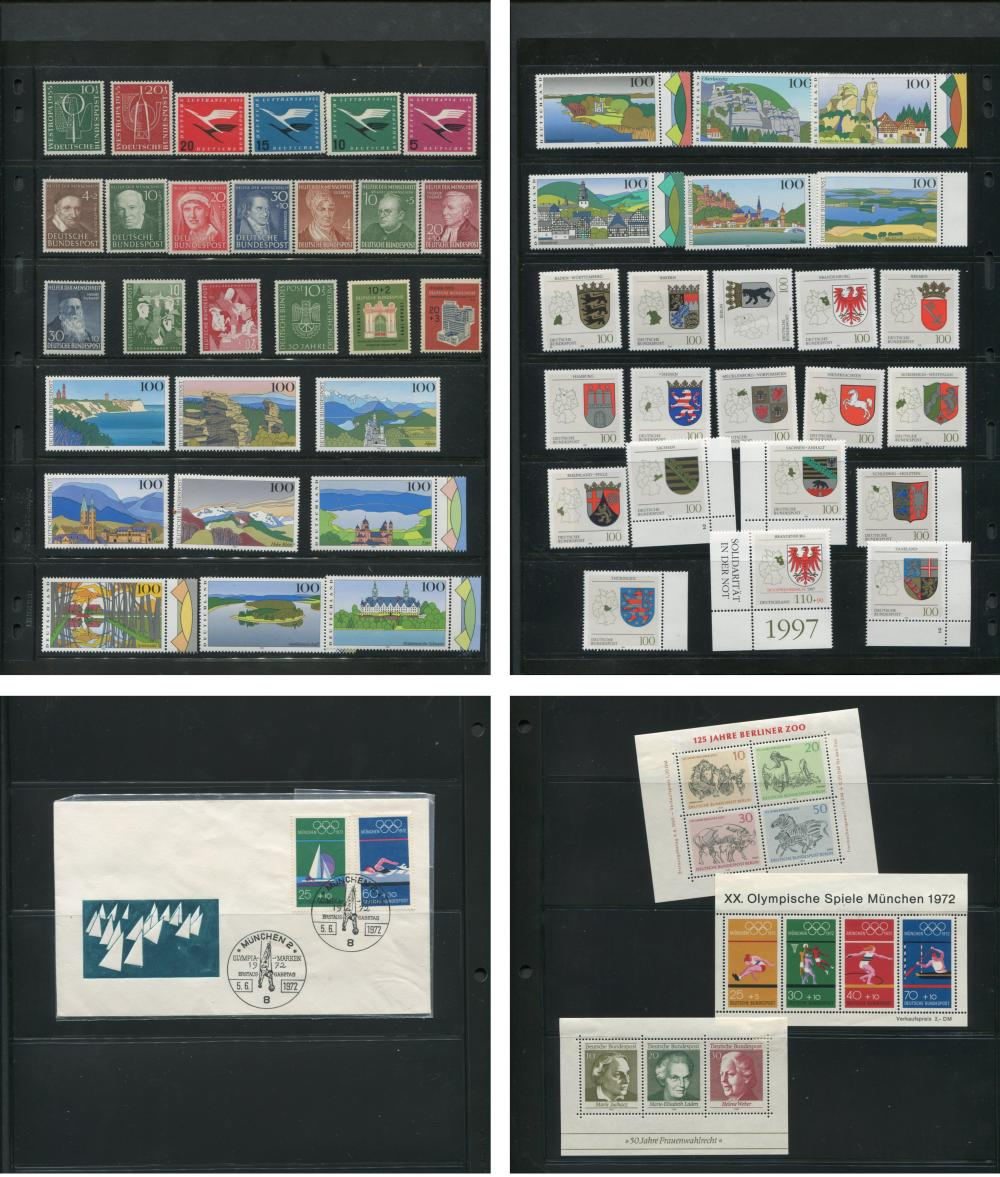 Germany Stamp Collection Mint
