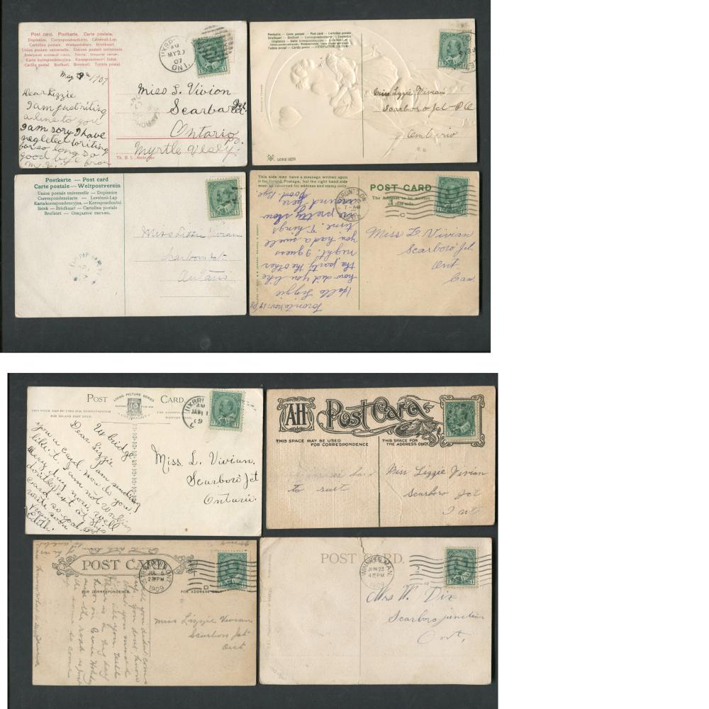 Canada Stamp/Postcard Collection 1