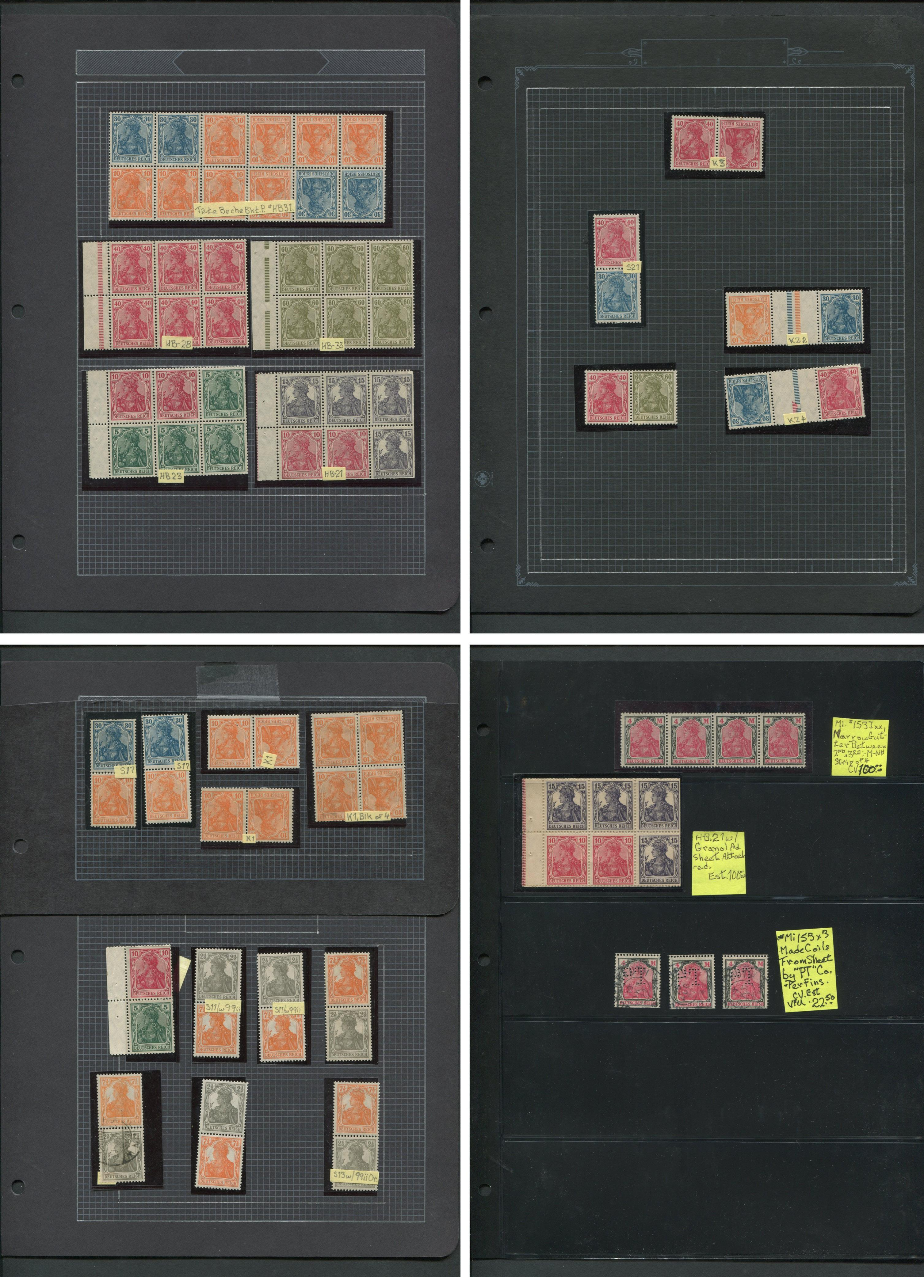 Germany Stamp Collection MNH