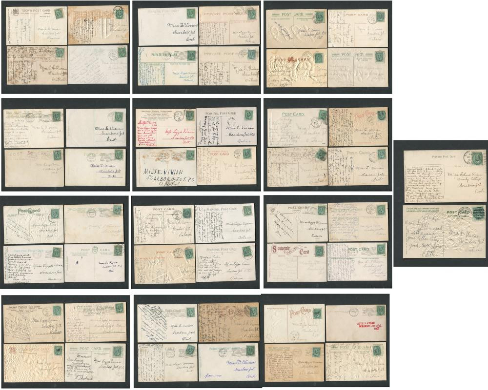 Canada Stamp/Postcard Collection 2