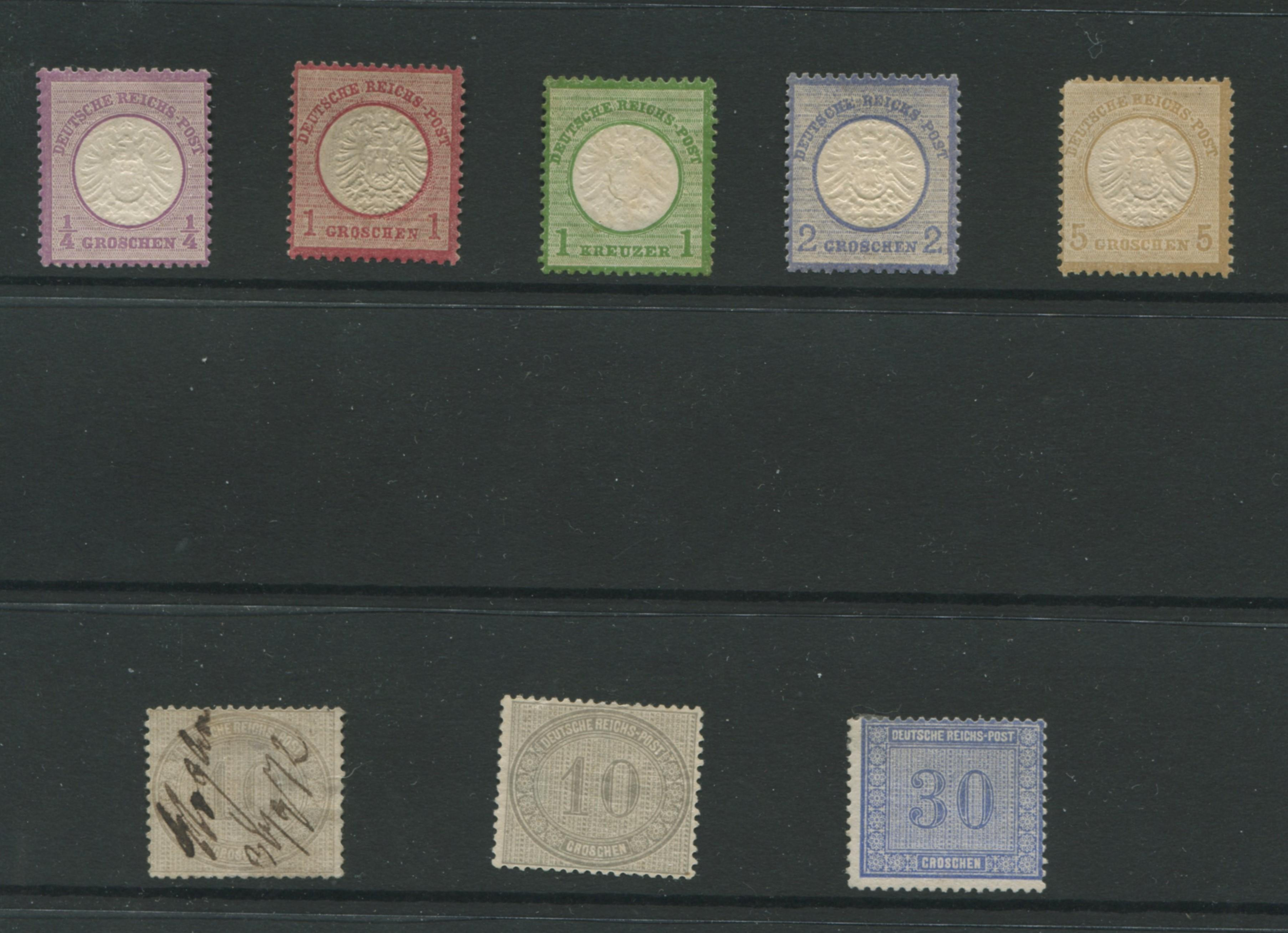 Germany 1872 Stamp Collection