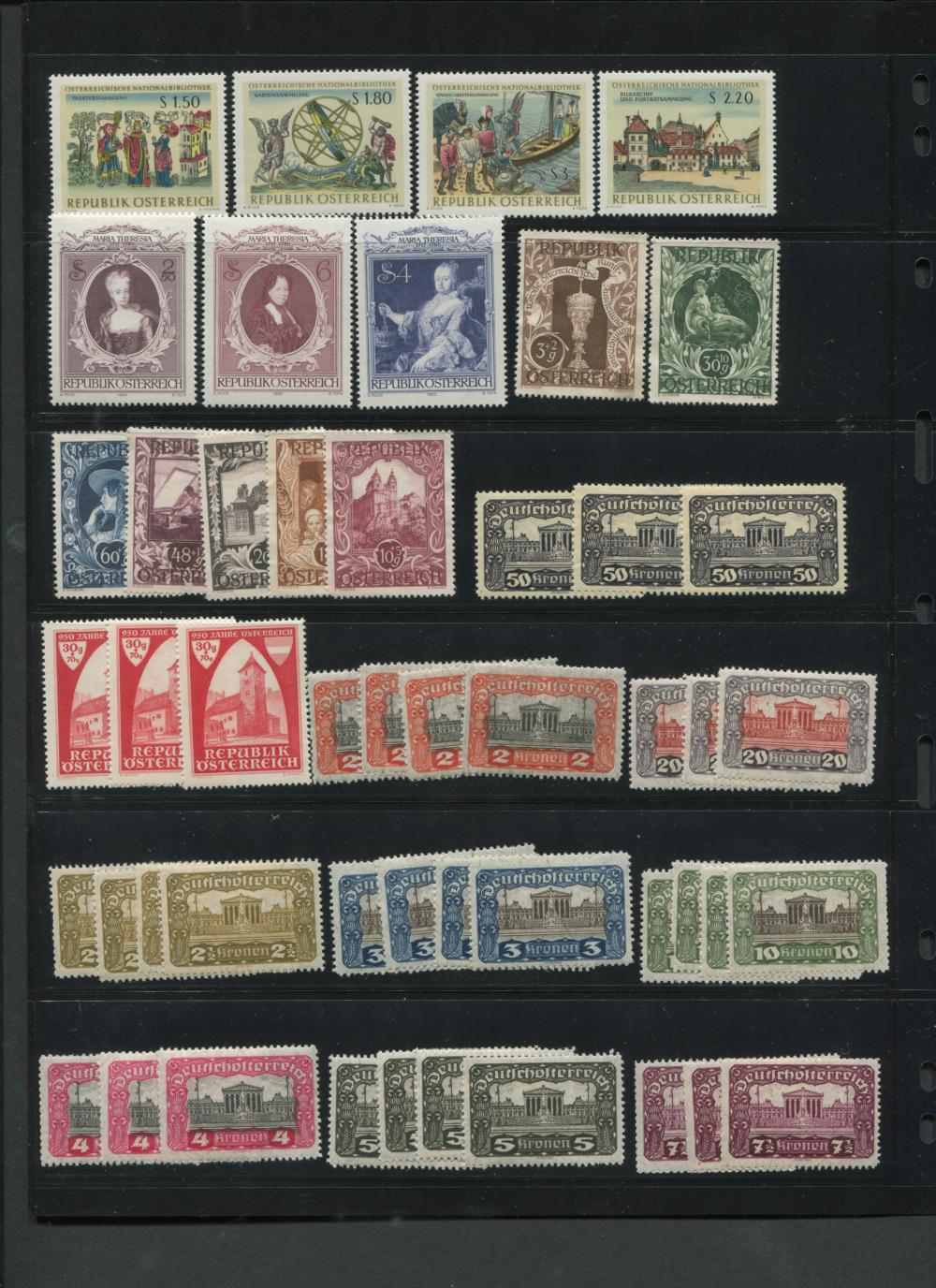Austria Stamp Collection 1