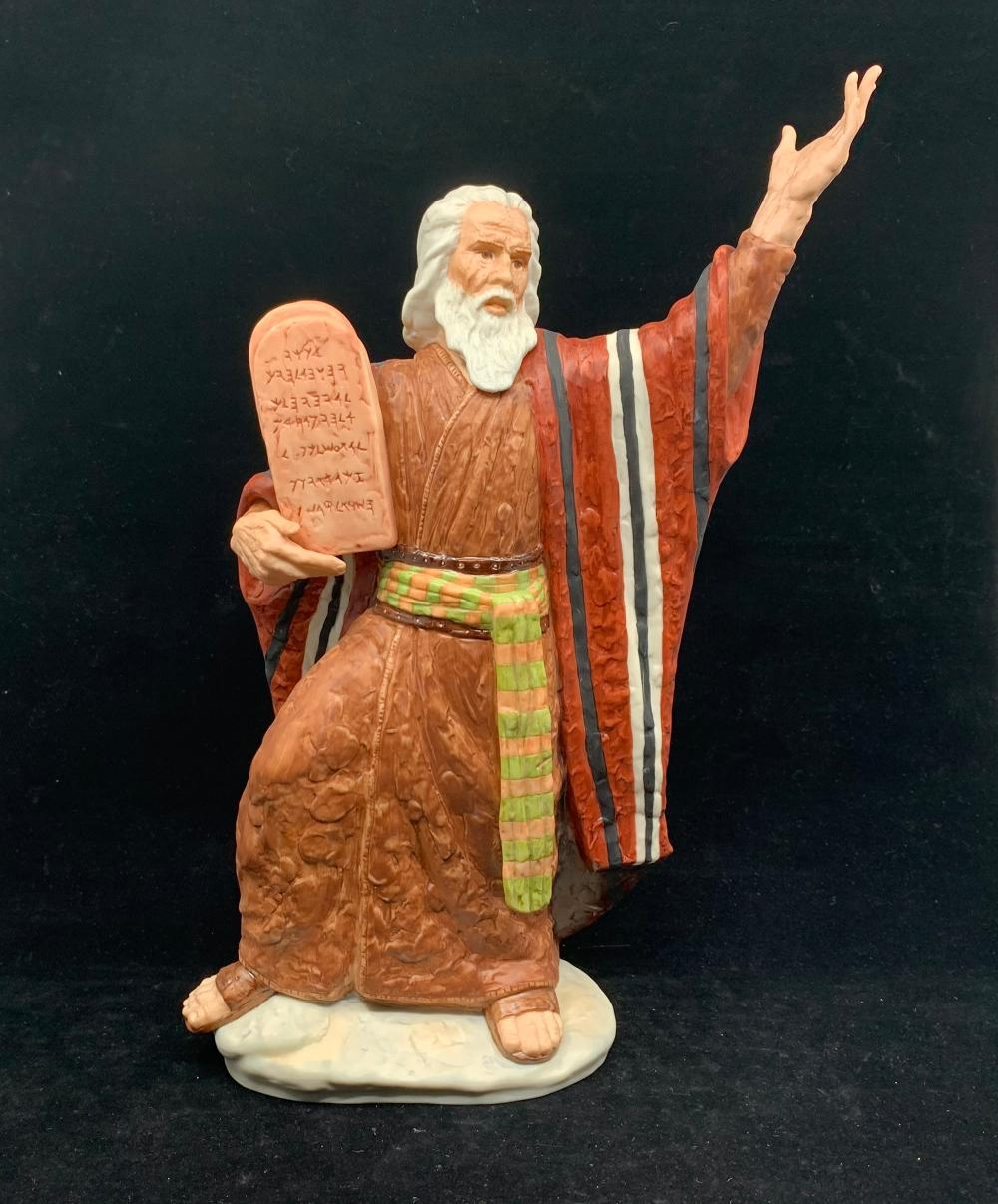 Goebel Crafts, Laszlo Ispanky, Limited Edition Moses with the Ten Commandments