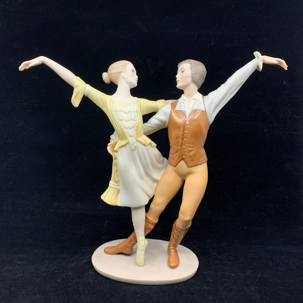 Goebel Crafts, Laszlo Ispanky, Limited Edition, Romance- Ballet Dancers and Lovers
