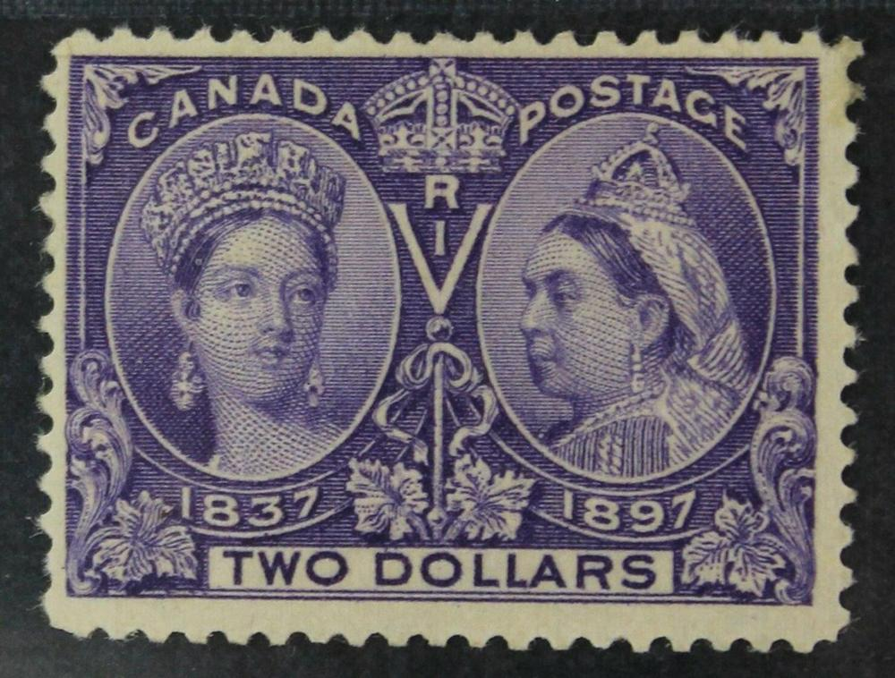 Canada 1897 #62 $2 Jubilee F+ MH