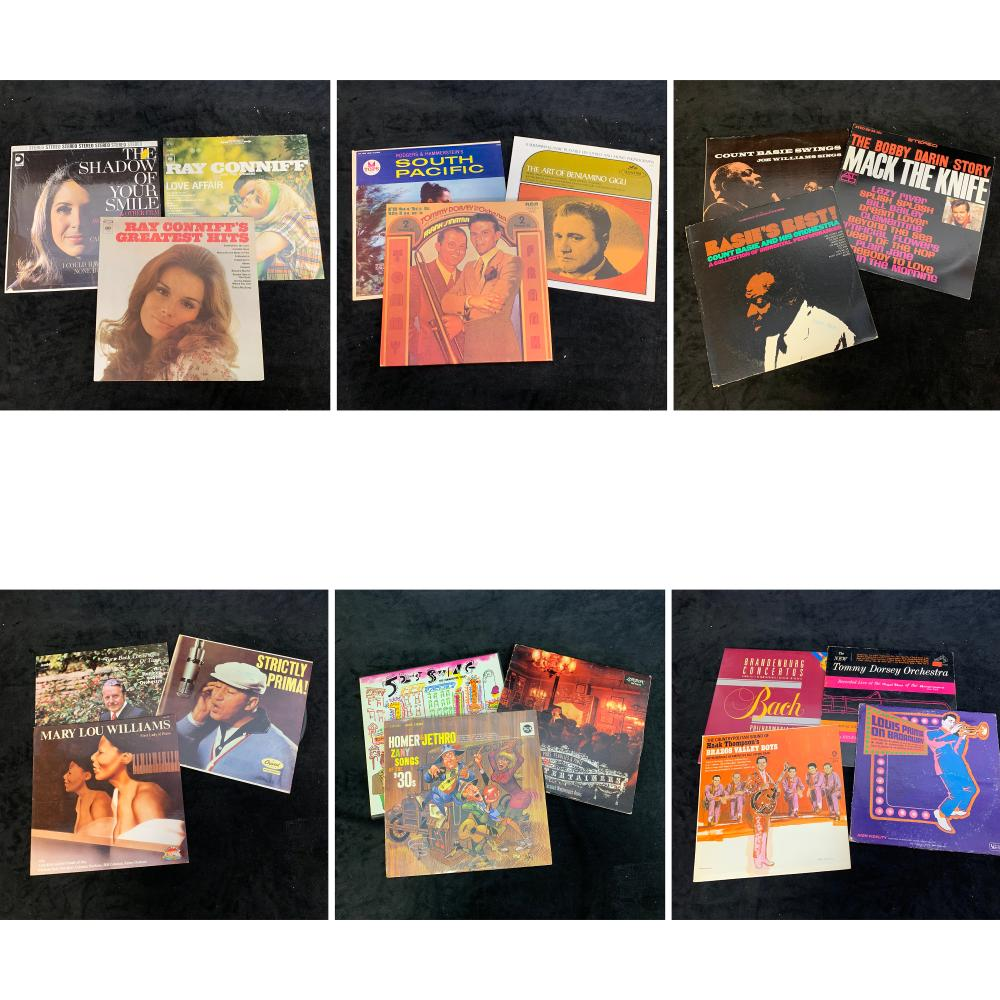 Large Collection of Vintage Records