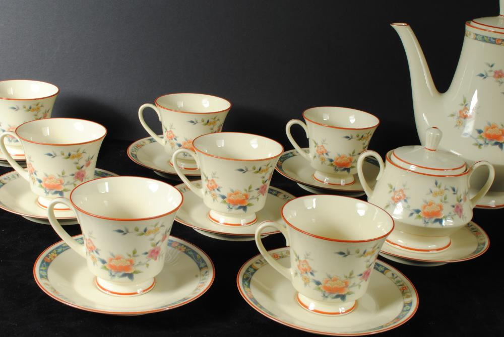 Noritake China Tea Set China Song 8165W83 (33 Pcs) Rare