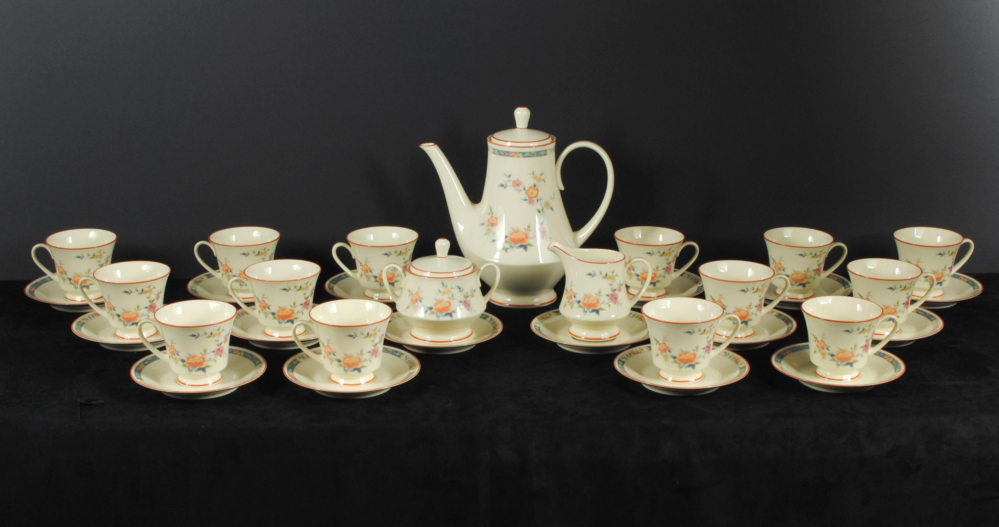 Noritake China Tea Set China Song 8165W83 (33 Pcs) Rare