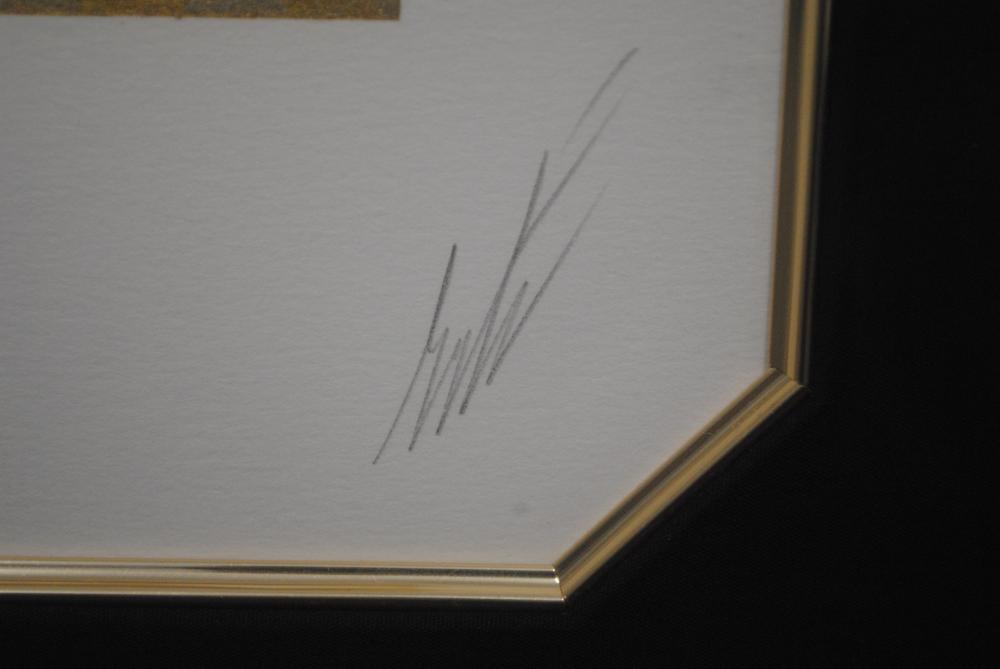 "Erte's ""Three Graces"" L.E. Framed Serigraph"