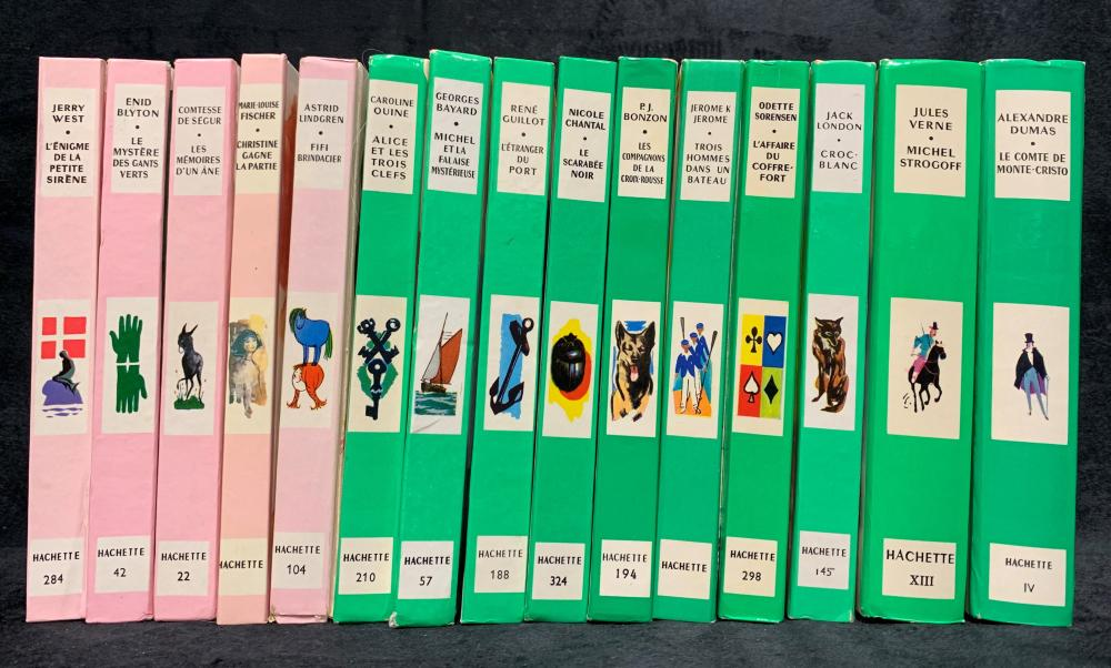 Old French Hardcover Books