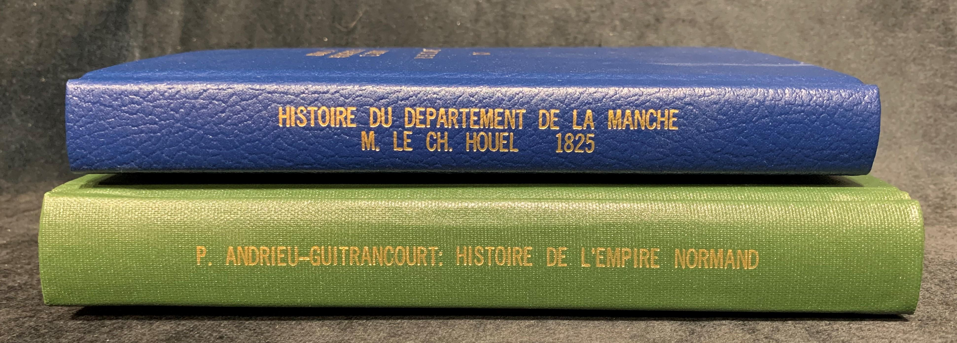 Old Harcover French Books