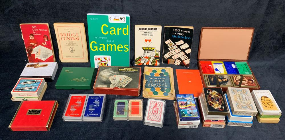 French and English Playing Cards and Games