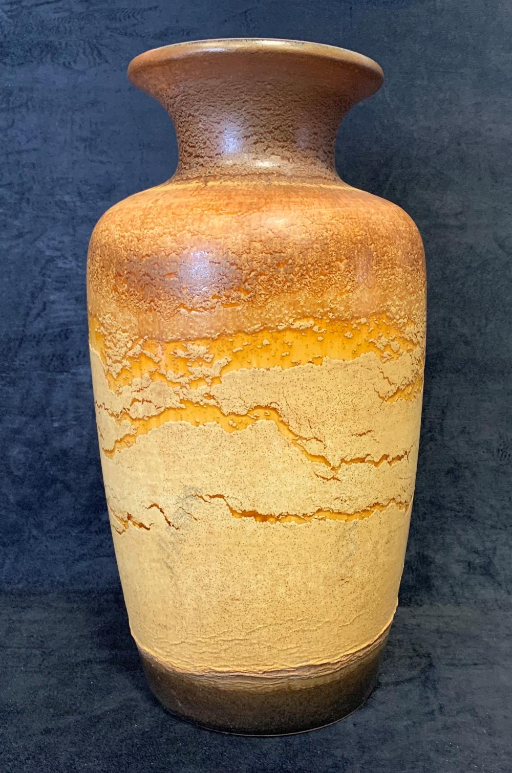 Large Scheurich Ceramic Floor Vase