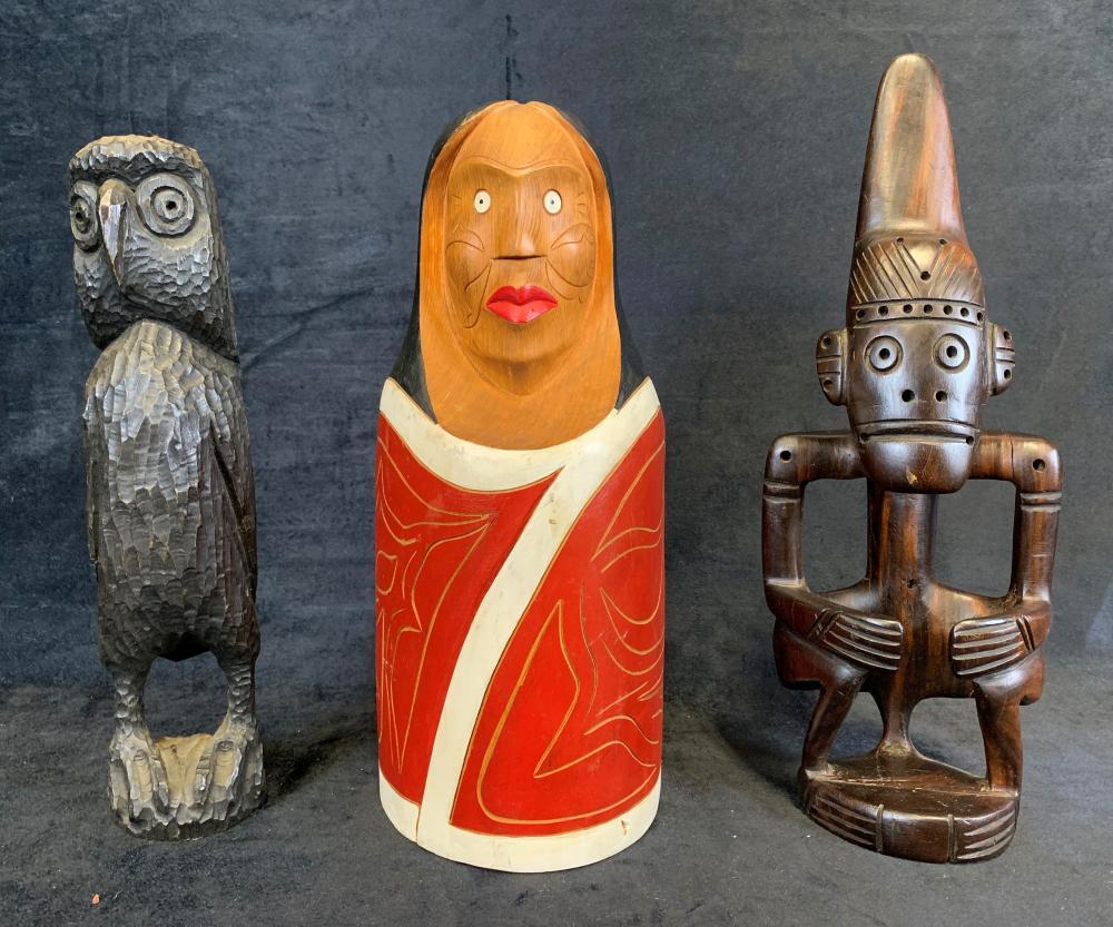 Collection of Original Aboriginal Wood Carvings