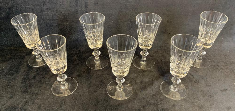 Collection of Crystal Glasses