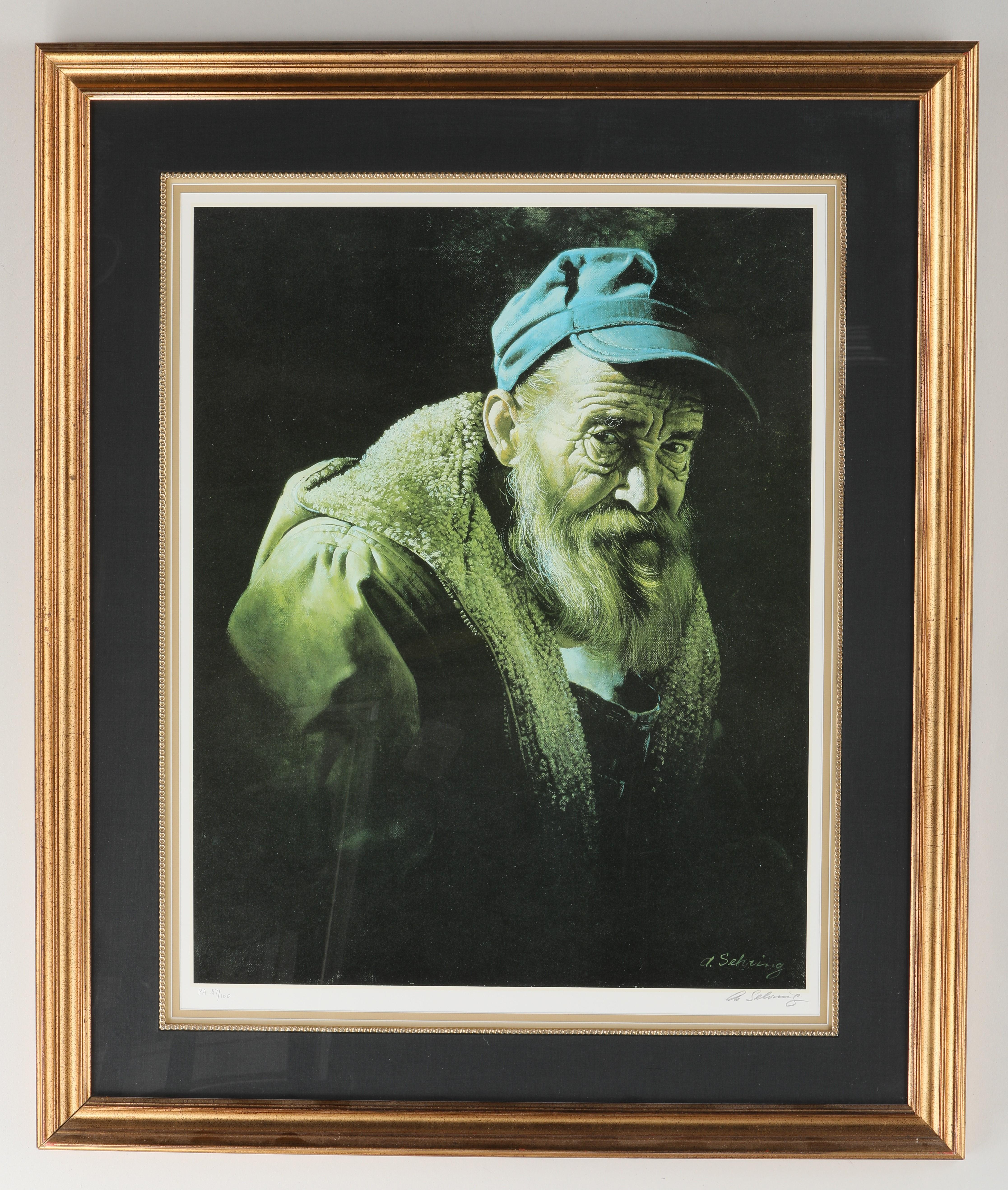 Adolf Sehring Limited Edition Print