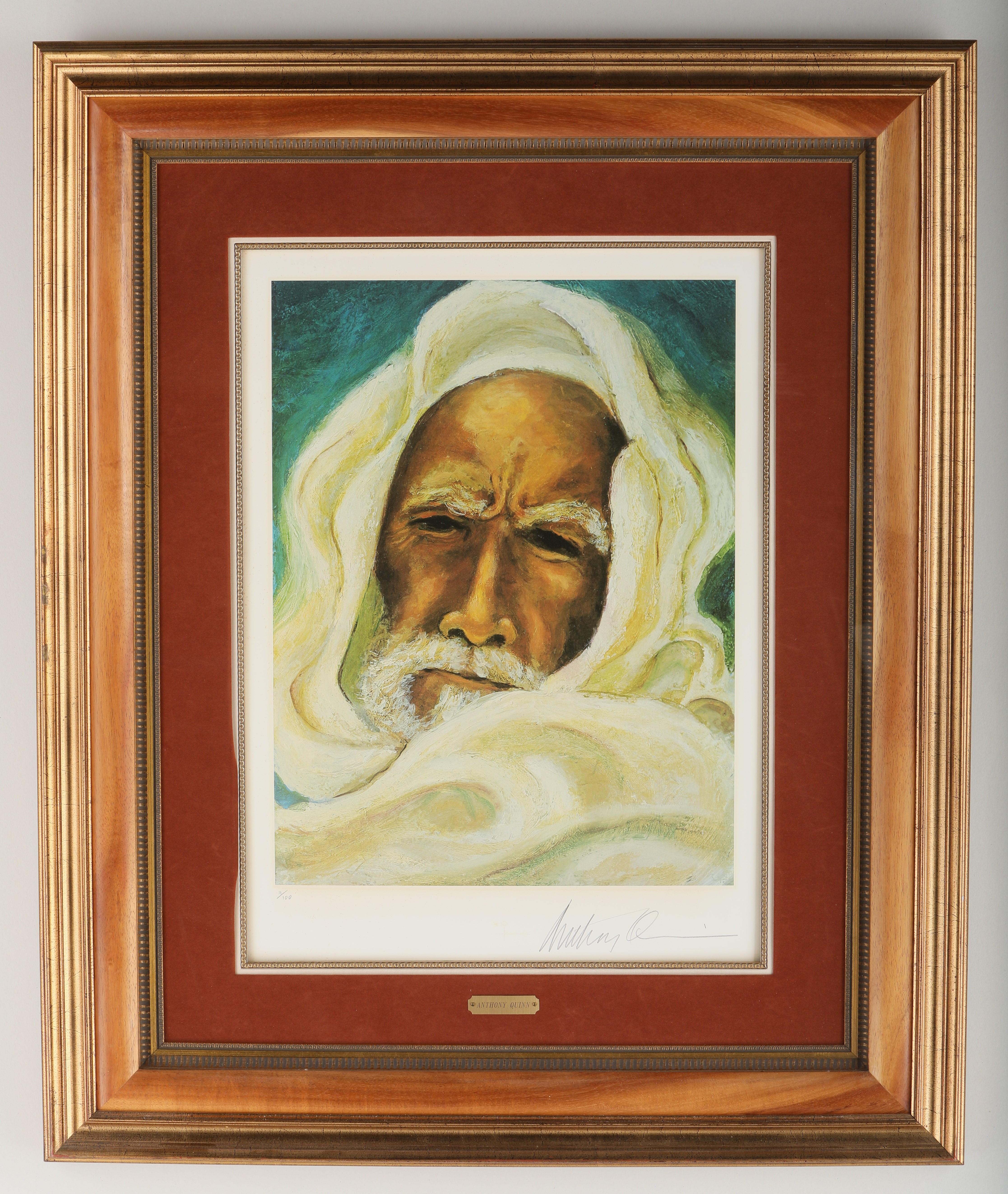 """Anthony Quinn's """"The Prophet"""" Limited Edition Print"""