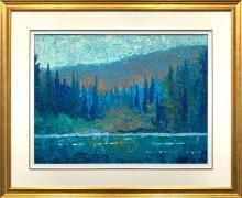 "Norman Brown's ""Rock Lake Algonquin Park"" Original"