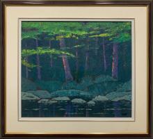 "Norman Brown's ""Shore Line Glow"" Original"