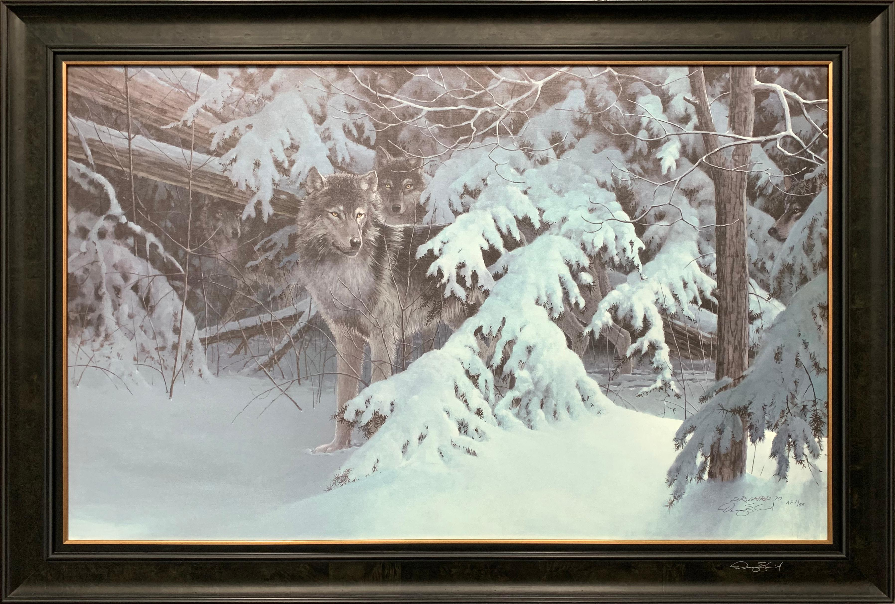 "Doug Laird's ""Snow Sentry"" AP Canvas"