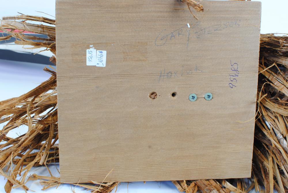 "Gary Peterson's ""Huxw Huxw"" Original Wooden Carving"